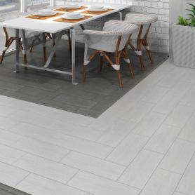 Керамогранит Боско 20.1x50.1 см 1.41 м² цвет светло-серый