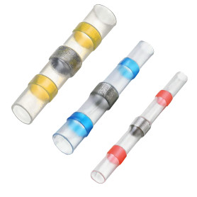 Набор термоусаживаемых трубок с припоем, 16 шт