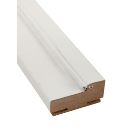 Комплект дверной коробки 70 мм, Hardflex, цвет белый