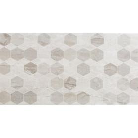 Плитка настенная Marmo Milano Hexagon 30х60 см 1.44 м² цвет серый