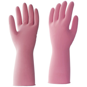 Перчатки латексные HQ Profiline размер M, цвет красный