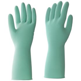 Перчатки латексные HQ Profiline размер M, цвет зеленый