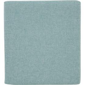 Подушка на сидение Рогожка 34х38 см цвет сине-зеленый
