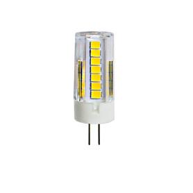 Лампа светодиодная G4 5 Вт капсула прозрачная 425 лм, тёплый белый свет