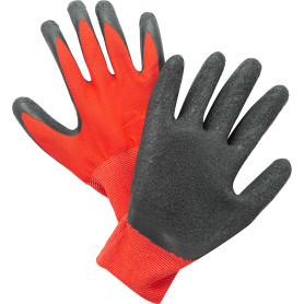 Перчатки нейлоновые с обливом