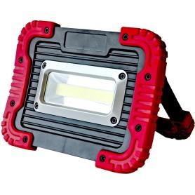 Прожектор светодиодный уличный 7 Вт COB 6500К IP65 переносной на батарейках
