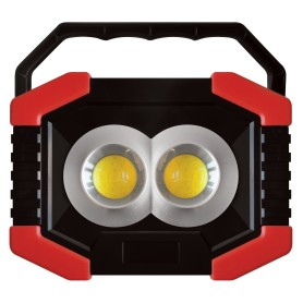 Прожектор светодиодный уличный 3 Вт COB и 2 LED-светодиод 6500К IP44 переносной на батарейках