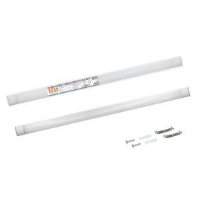 Светильник линейный светодиодный ДПО 3017 1190 мм 36 Вт, холодный белый свет
