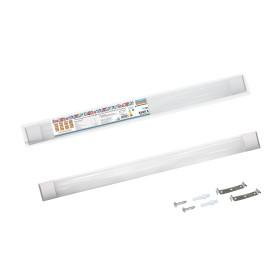 Светильник линейный светодиодный ДПО 3017 590 мм 18 Вт, холодный белый свет