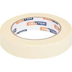Лента малярная Dexter 25 мм х 50 м