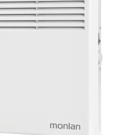 Конвектор электрический напольный Monlan ML-5 с механическим термостатом, 500 Вт