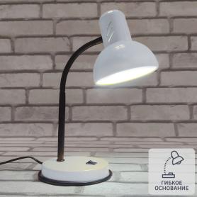 Рабочая лампа настольная «Эйр», цвет белый