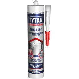Герметик санитарный Tytan Turbo Upg силиконовый 280 мл прозрачный