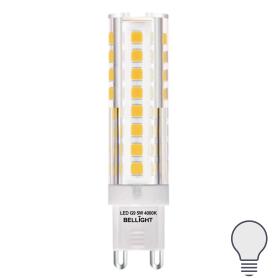 Лампа светодиодная Bellight G9 220 В 5 Вт капсула 400 лм, нейтральный белый свет