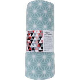 "Плед ""Aristo"", 130х170 см, флис, цвет голубой"