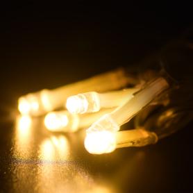 Электрогирлянда наружная Balance «Занавес» 1.5 м 96 LED тёплый белый IP44 на батарейках