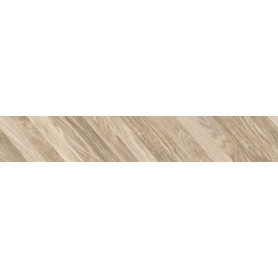 Керамогранит Golden Tile Wood Chevron left 15x90 см 1.08 м² цвет бежевый