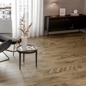 Керамогранит Golden Tile Wood Chevron 15x90 см 1.08 м² цвет коричневый