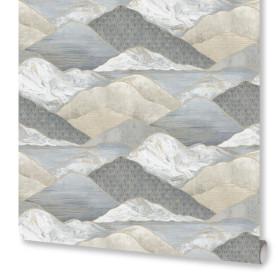 Обои флизелиновые Monte Solaro Sayonara серые 1.06 м 9057-11