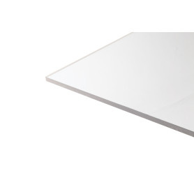 Стекло акриловое белое 1000х500х4 мм