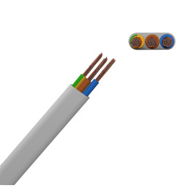 Провод Партнер-Электро ПуГВВ 3x2.5, 50 м, ГОСТ
