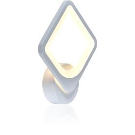 Бра светодиодное Escada 10220/1, нейтральный белый свет, цвет белый