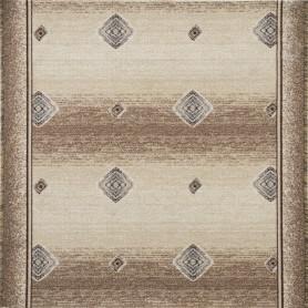 Дорожка ковровая «Баро» 1 м, цвет бежевый
