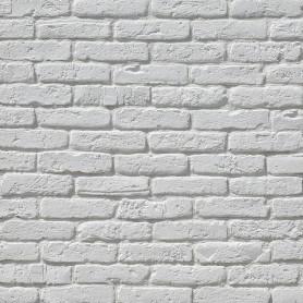 Плитка декоративная берген брик 1.554 м² белая