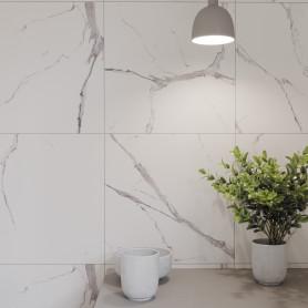 Керамогранит Cersanit Diva 42x42 см 1.58 м² цвет белый
