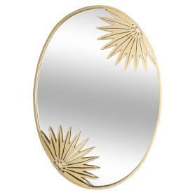 Зеркало декоративное Chic, овал, 56x40 см, цвет золото
