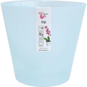 Горшок цветочный для орхидей Фиджи ø16 h14.5 см v1.6 л пластик голубой