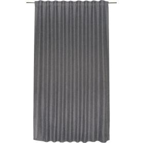 Штора на ленте «Rosalia», 200х280 см, цвет серый