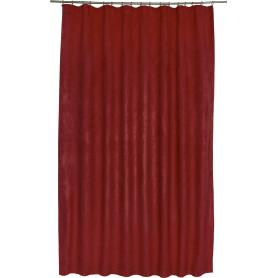 Штора на ленте со скрытыми петлями «Нью Манчестер», 200х280 см, цвет вишневый