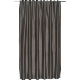 Штора на ленте Inspire «Нью Силка», 200х280 см, цвет серый/коричневый