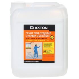 Грунтовка концентрат для сухих помещений Axton 5 л