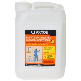 Грунтовка концентрат для сухих помещений Axton 10 л