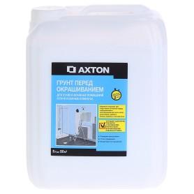 Грунтовка для сухих и влажных помещений Axton, 5 л