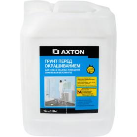 Грунтовка для сухих и влажных помещений Axton, 10 л