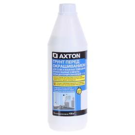 Грунтовка концентрат Axton для сухих и влажных помещений 1 л