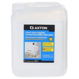 Грунтовка концентрат для влажных помещений Axton 5 л