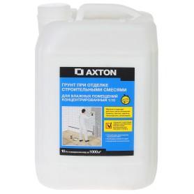 Грунтовка концентрат для влажных помещений Axton 10 л