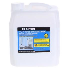 Грунтовка концентрат Axton для сухих и влажных помещений 2.5 л