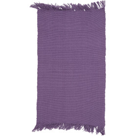 Коврик Basic «Purple», 50х80 см, хлопок