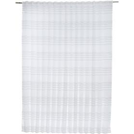Тюль на ленте «Coventry», 290х280 см, цвет серый