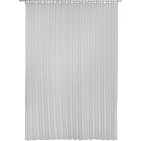 Тюль на ленте, вуаль, 300х280 см, цвет серый
