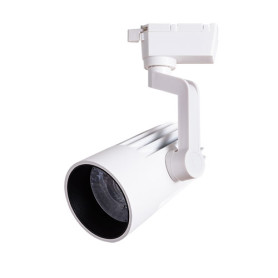 Трековый светильник светодиодный Arte Lamp Wales A1632PL-1WH 4000K 32W цвет белый