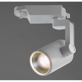 Трековый светильник светодиодный Arte Lamp Traccia A2310PL-1WH 4000K 10W цвет белый