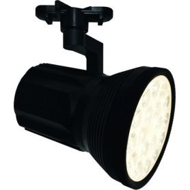 Трековый светильник светодиодный Arte Lamp Pianta A6118PL-1BK 4000K 18W цвет черный