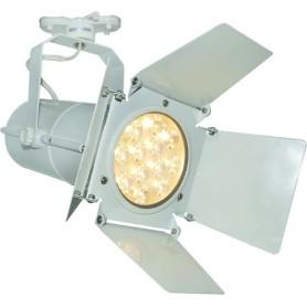 Трековый светильник светодиодный Arte Lamp Obiettivo A6312PL-1WH 4000K 12W цвет белый