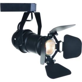 Трековый светильник светодиодный Arte Lamp Amico A1811PL-1BK 3000K 10W цвет черный